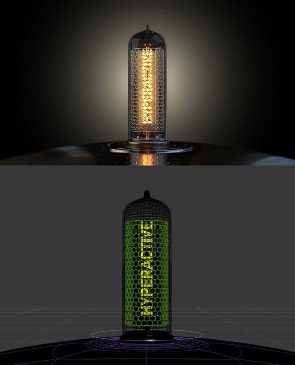 Vacuum Tube - 3DOcean Item for Sale