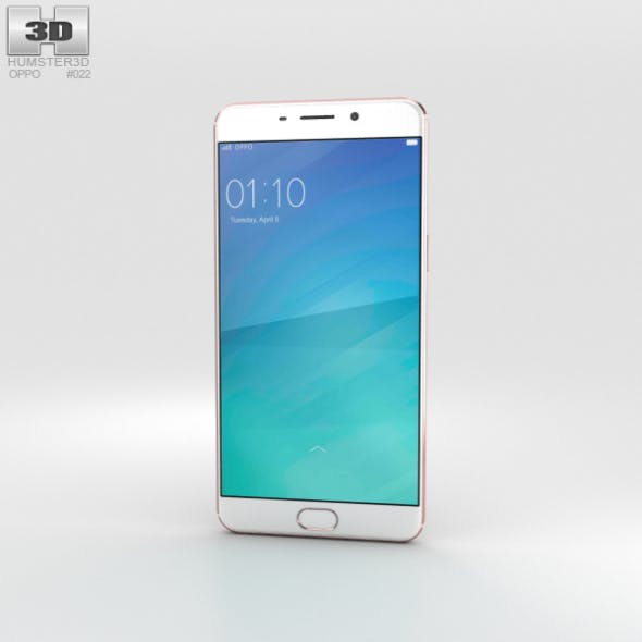 Oppo F1 Plus Rose Gold - 3DOcean Item for Sale