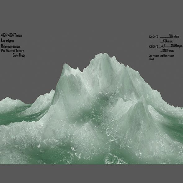 ice_Mountain - 3DOcean Item for Sale