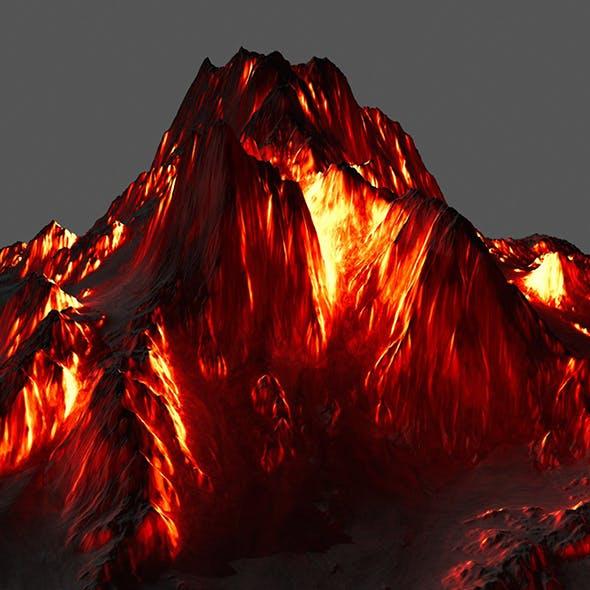 Volcano. - 3DOcean Item for Sale