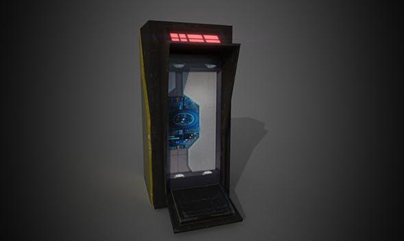 Futuristic Object - 3DOcean Item for Sale