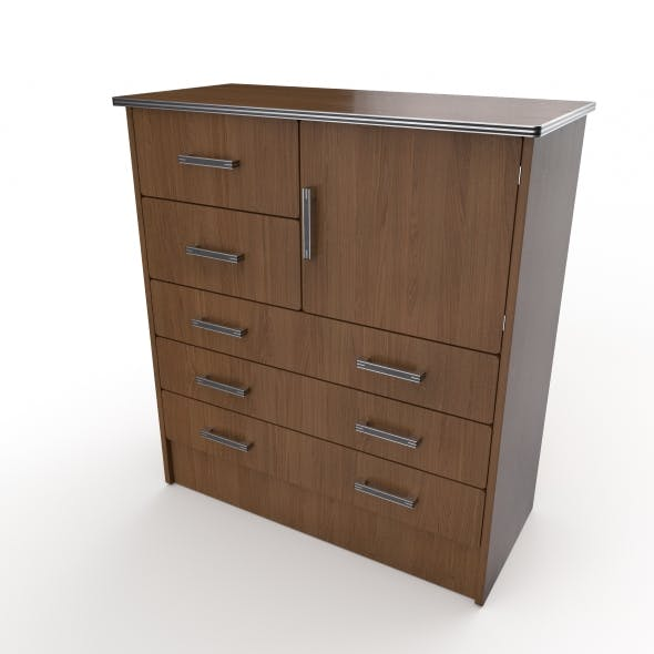 commode 18 - 3DOcean Item for Sale