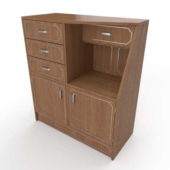 commode 21 - 3DOcean Item for Sale