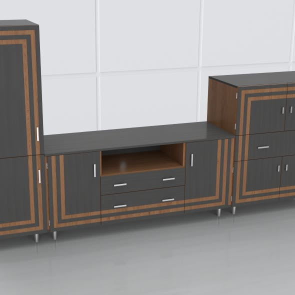tv stand 47 - 3DOcean Item for Sale