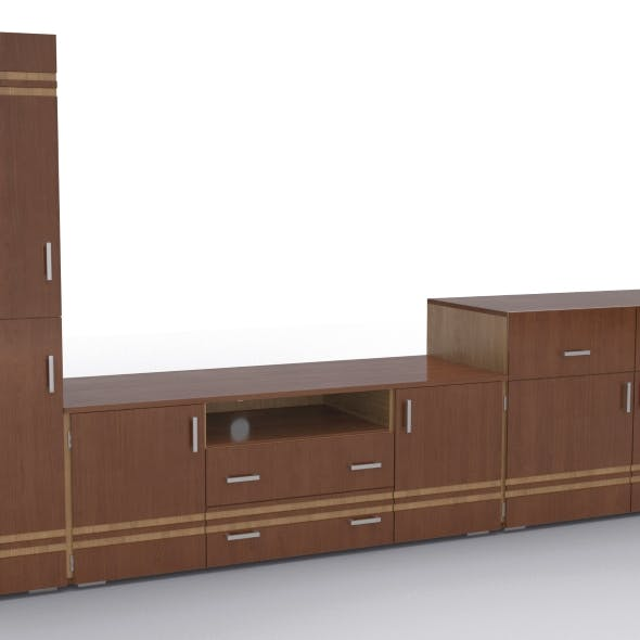 tv stand 48 - 3DOcean Item for Sale