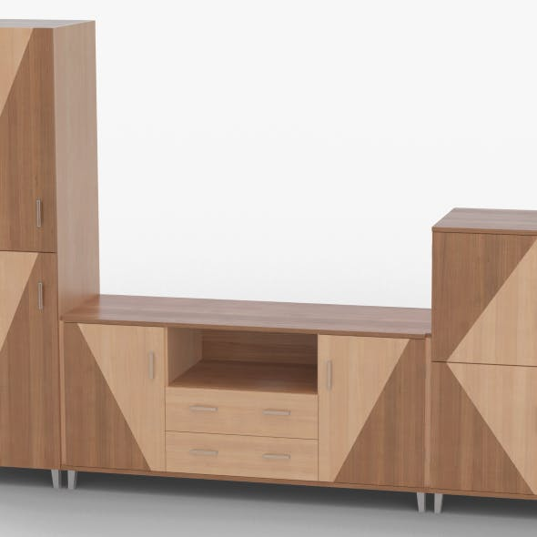 tv stand 49 - 3DOcean Item for Sale