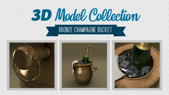 Champagne Bucket - 3DOcean Item for Sale
