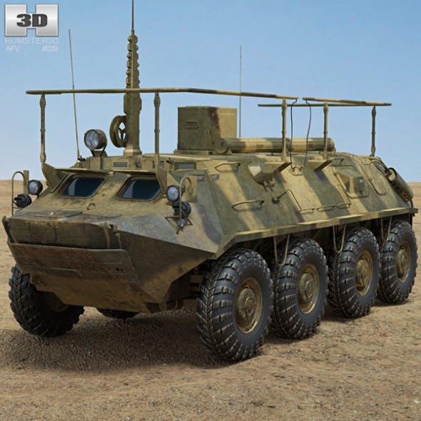 BTR-60PU - 3DOcean Item for Sale