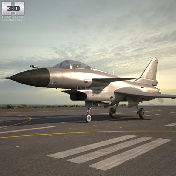Chengdu J-10 - 3DOcean Item for Sale