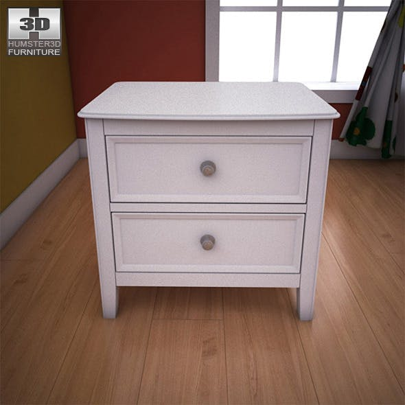 Ashley Caspian Panel Nightstand