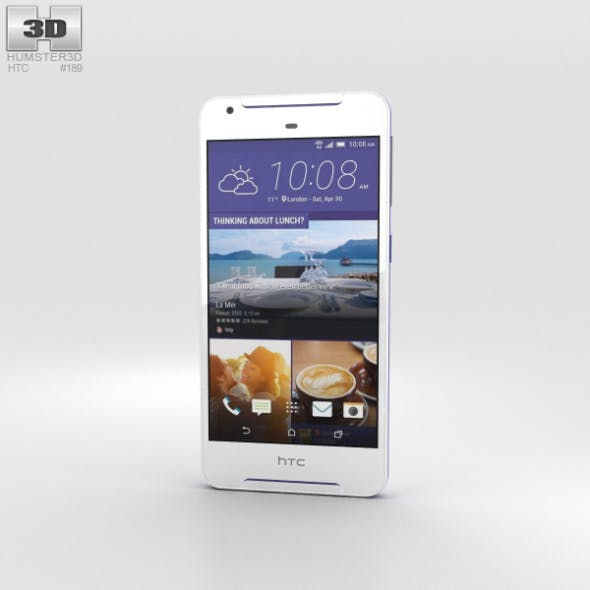 HTC Desire 628 White - 3DOcean Item for Sale