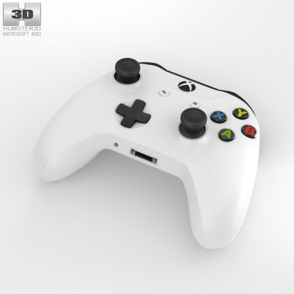 Microsoft Xbox One S Controller - 3DOcean Item for Sale