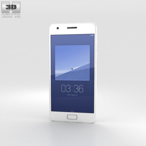 Lenovo ZUK Z2 Ceramic White - 3DOcean Item for Sale