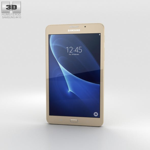 Samsung Galaxy J Max Gold - 3DOcean Item for Sale