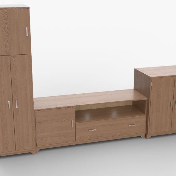 tv stand 54 - 3DOcean Item for Sale