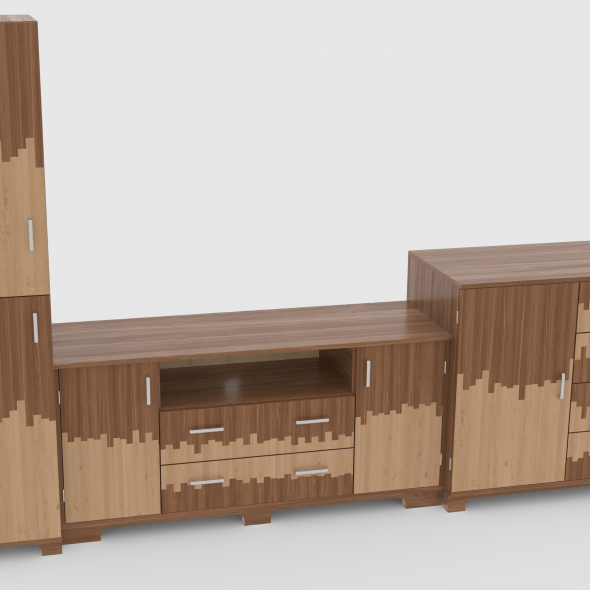 tv stand 56 - 3DOcean Item for Sale