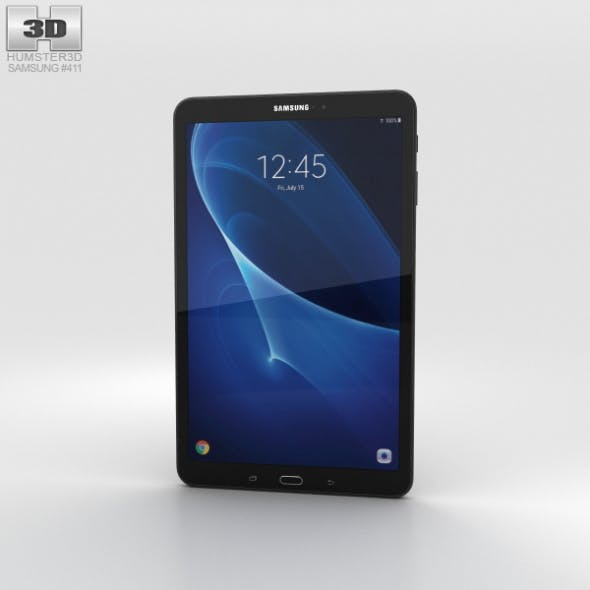 Samsung Galaxy Tab A 10.1 Metallic Black - 3DOcean Item for Sale