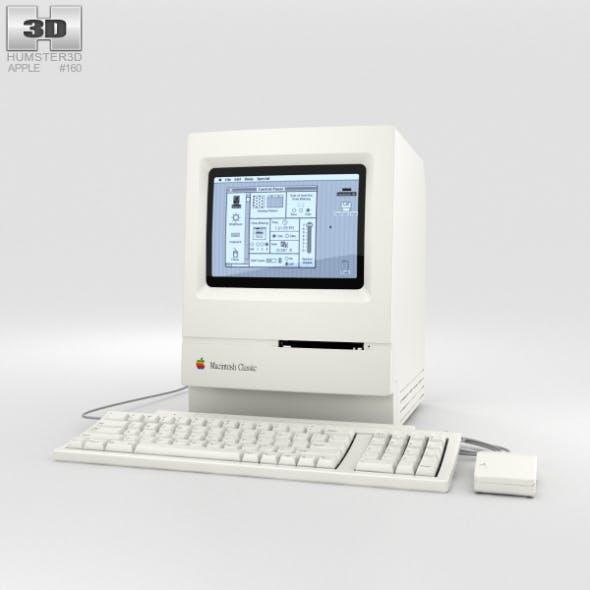 Apple Macintosh Classic - 3DOcean Item for Sale