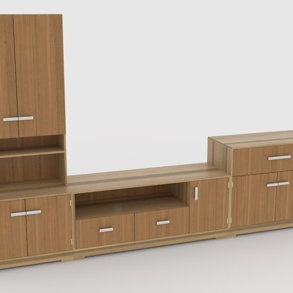 tv stand 63 - 3DOcean Item for Sale