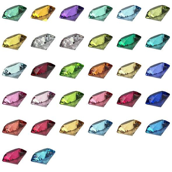 Gemstone Materials STARTER for V-Ray and 3DS Max - 3DOcean Item for Sale