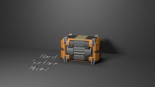 Hard Surface Box Model - 3DOcean Item for Sale