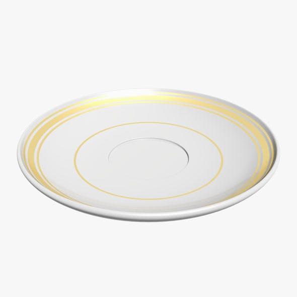 Saucer - 3DOcean Item for Sale
