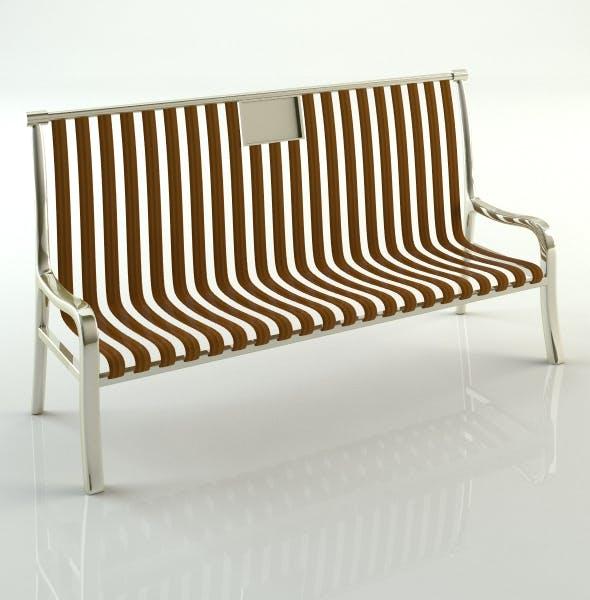 Bench ( street element_1) - 3DOcean Item for Sale