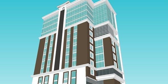 SPM OFFICE BUILDING - 3DOcean Item for Sale