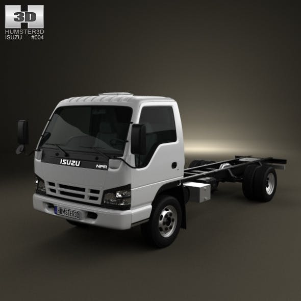 Isuzu NPR Chassis 2011 - 3DOcean Item for Sale