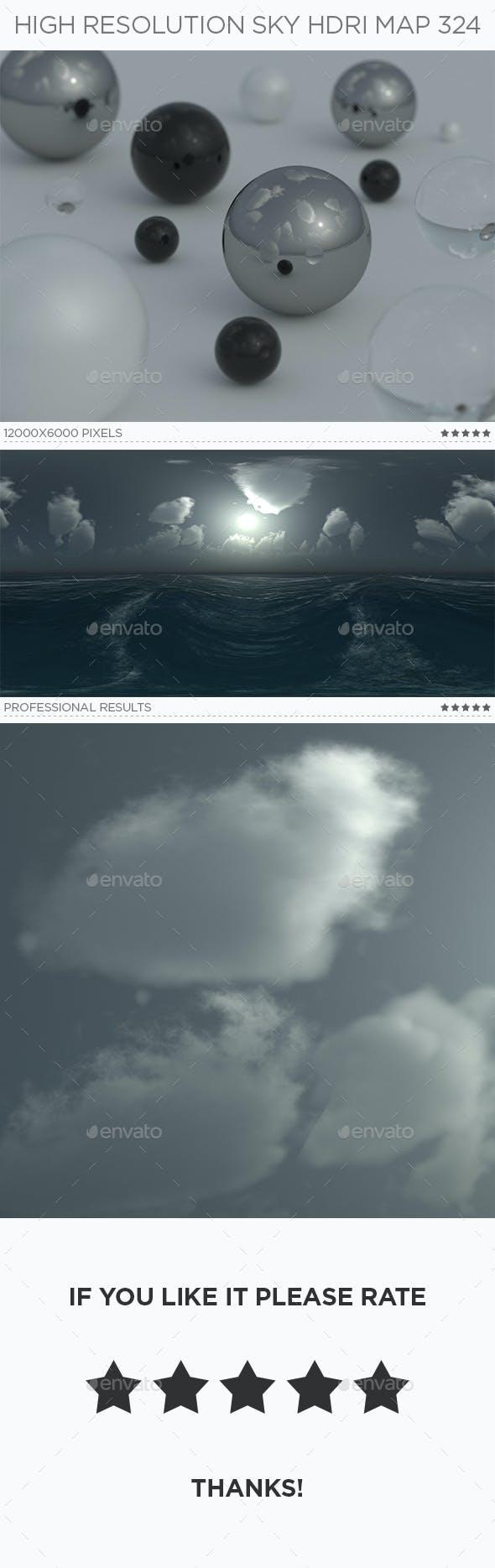 High Resolution Sky HDRi Map 324 - 3DOcean Item for Sale
