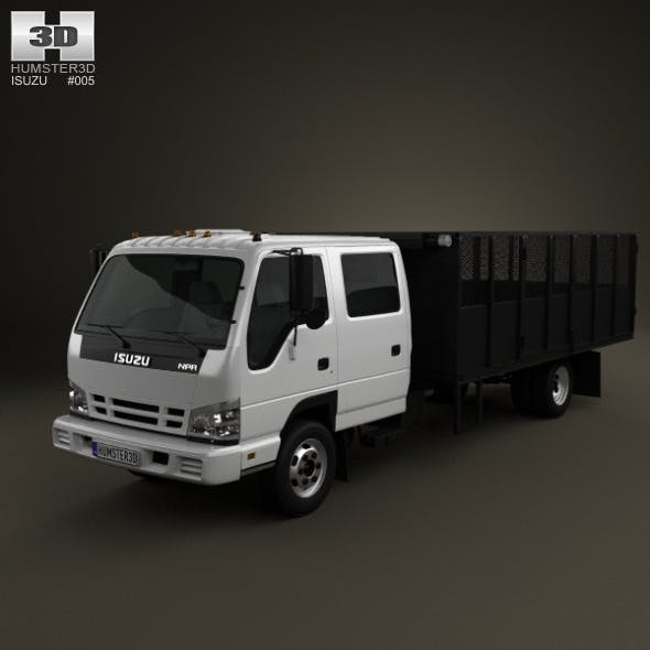 Isuzu NPR Dump Truck 2011 - 3DOcean Item for Sale