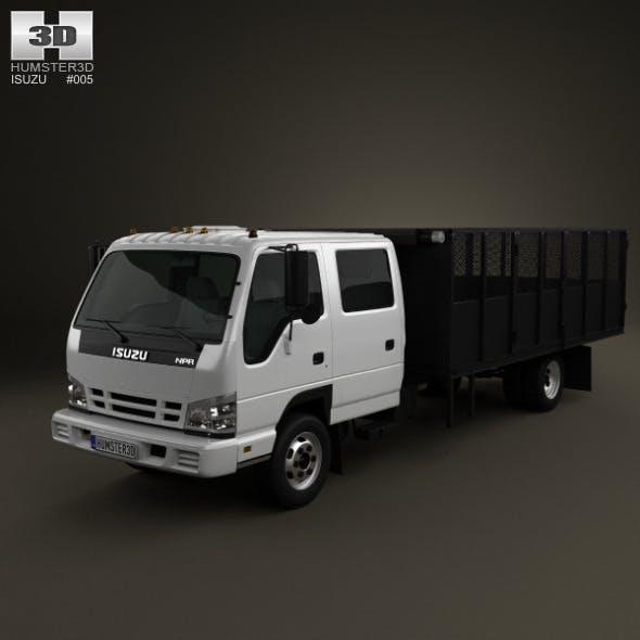 Isuzu NPR Dump Truck 2011