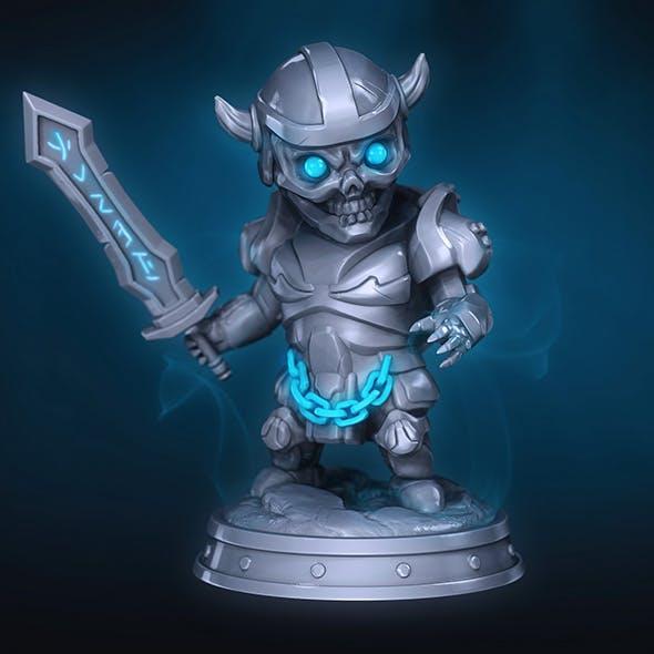 Cute Death Knight - 3DOcean Item for Sale