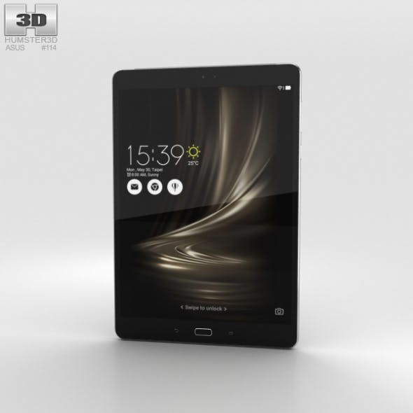 Asus Zenpad 3S 10 Grey - 3DOcean Item for Sale