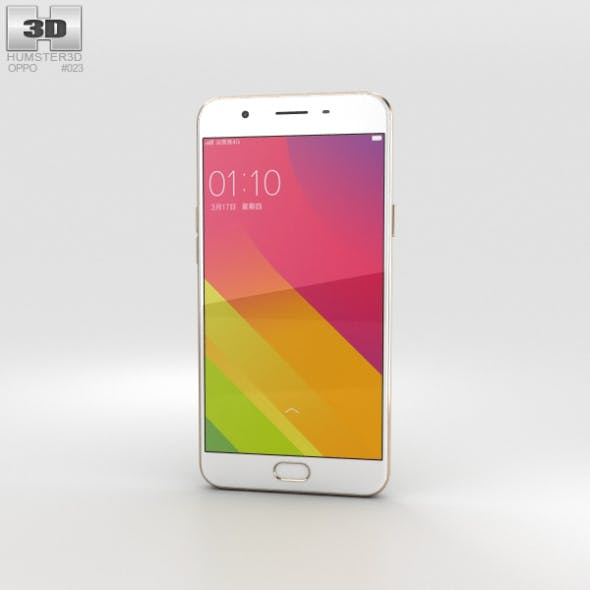 Oppo A59 Gold - 3DOcean Item for Sale