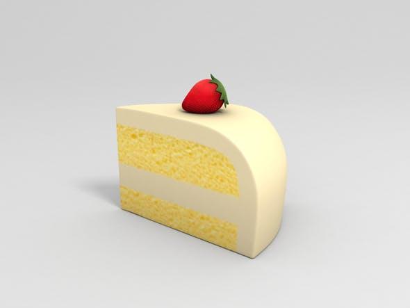 Cartoon Cake - 3DOcean Item for Sale