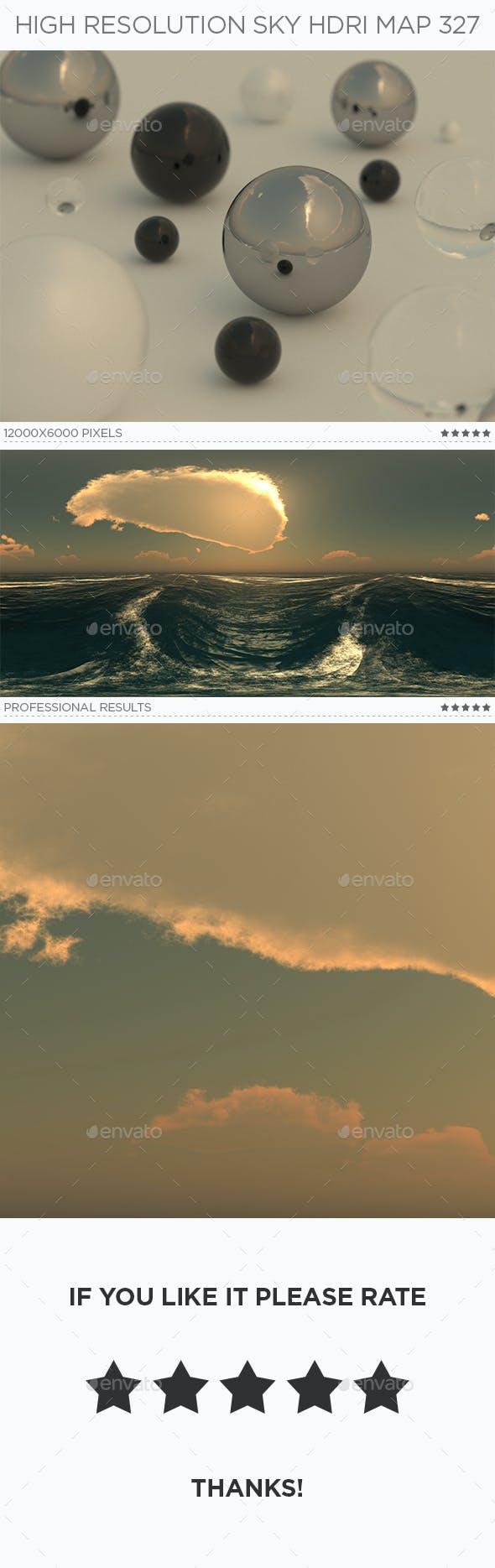 High Resolution Sky HDRi Map 327 - 3DOcean Item for Sale