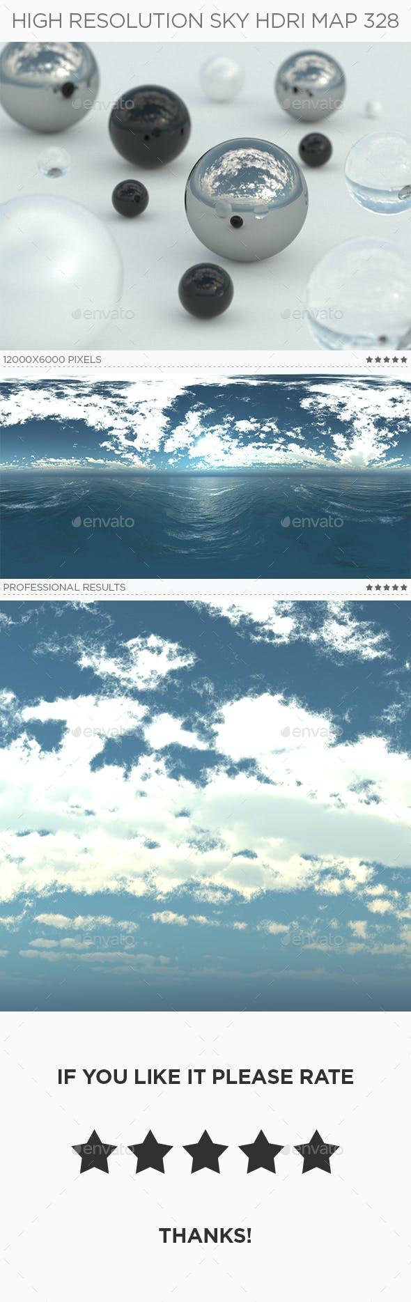 High Resolution Sky HDRi Map 328 - 3DOcean Item for Sale