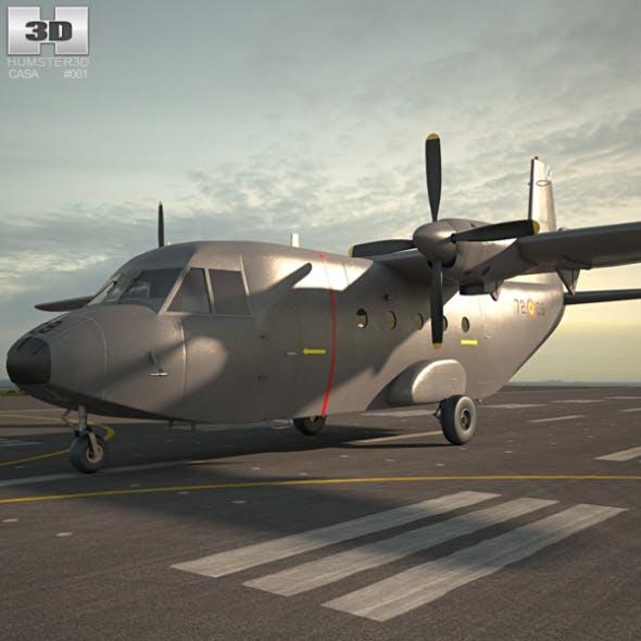 CASA C-212 Aviocar - 3DOcean Item for Sale