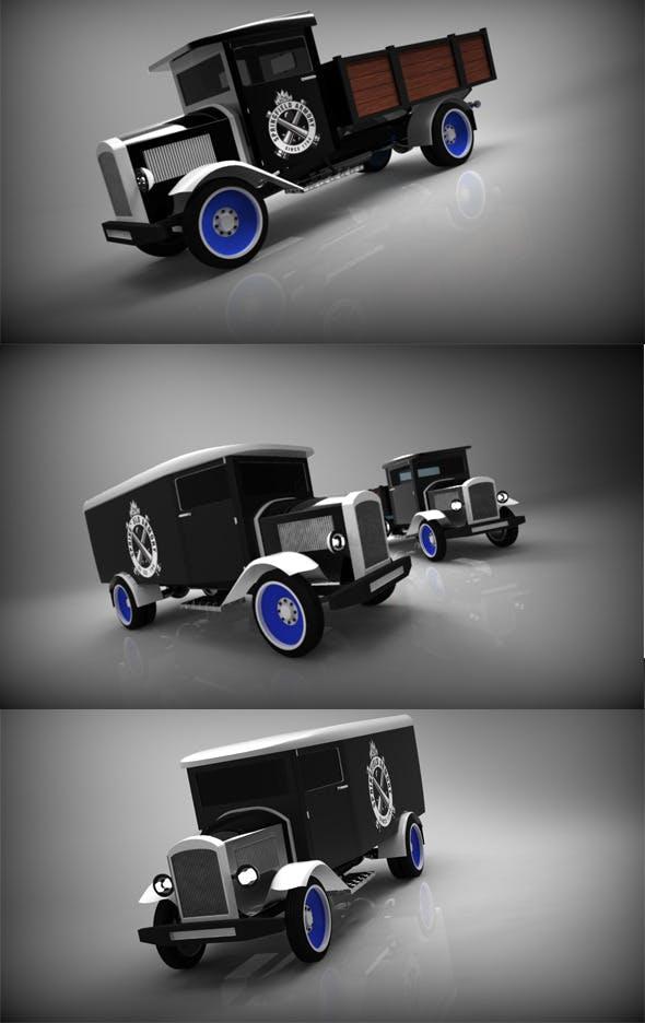 Mercedes Benz L2000 - 3DOcean Item for Sale