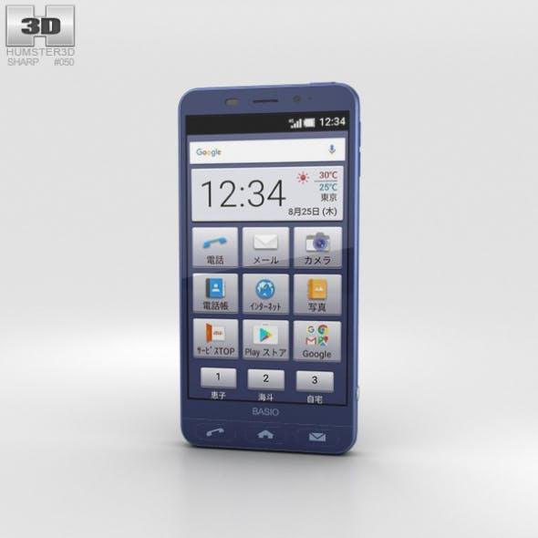 Sharp Basio 2 Blue - 3DOcean Item for Sale