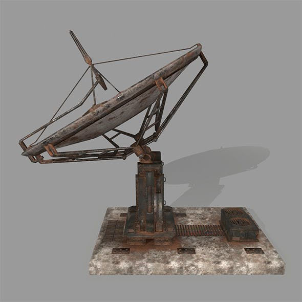 satellite - 3DOcean Item for Sale