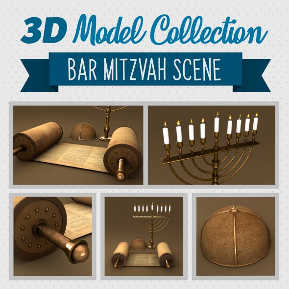 Bar Mitzvah Collection - 3DOcean Item for Sale