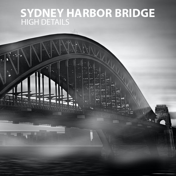 Sydney Harbor Bridge 3D Model