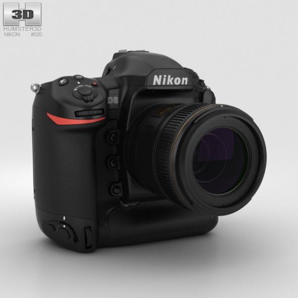 Nikon D5 - 3DOcean Item for Sale