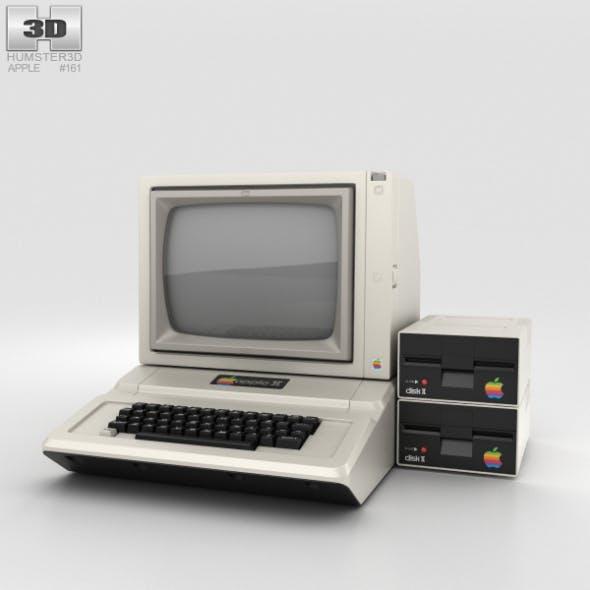 Apple II Computer - 3DOcean Item for Sale