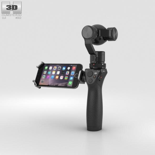 DJI Osmo Camera - 3DOcean Item for Sale