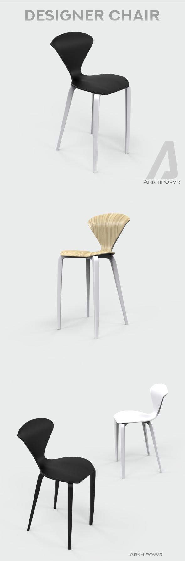 Designer chair - 3DOcean Item for Sale