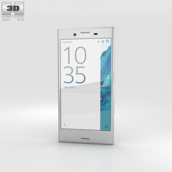 Sony Xperia XZ Platinum - 3DOcean Item for Sale