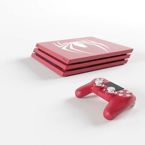 Limited Edition Marvel Spider-Man PS4 - 3DOcean Item for Sale